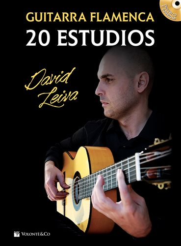 20 flamenco guitar studies (Book / CD and audios download) - David Leiva