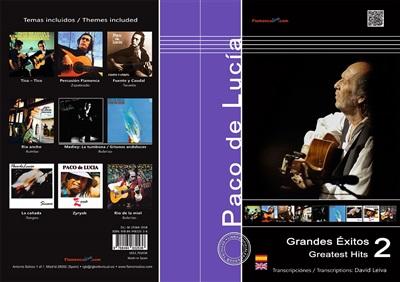 Greatest Hits - Vol 2 (Book) - Paco de Lucía