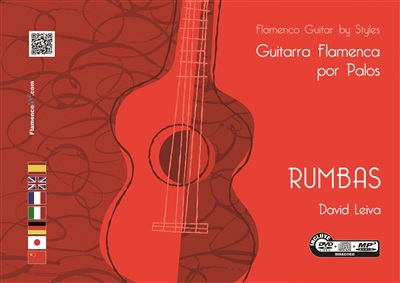 Flamenco Guitar Flamenca by Styles- RUMBAS - (DVD/CD/Book) - David Leiva