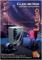 Cajon Method - Latin- (DVD / Book), Dany Moreno