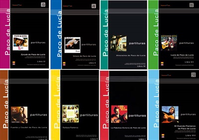Saving Pack (8 Books) - Paco de Lucia