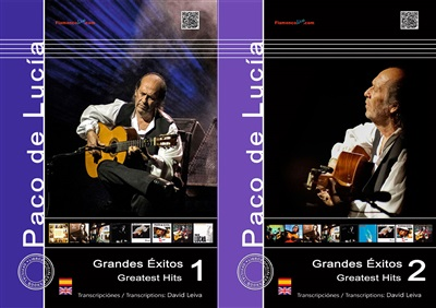 Greatest Hits Saving Pack - Vol 1&2 (Book) - Paco de Lucía