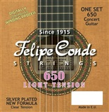 Felpe Conde strings - LOW TENSION CLASSIC GUITAR STRINGS 650