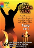 """Una llama viva"" - Vol 1 (4 DVDs) - Several artists"