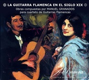 The Flamenco Guitar in the XIX century (CD) -Al-Hamra Quartet- Manuel Granados