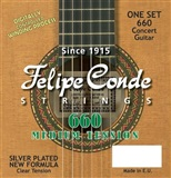 Felipe Conde strings - MEDIUM TENSION CLASSIC GUITAR STRINGS 660