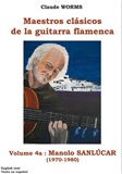 Flamenco Guitar Masters (Score book), Manolo Sanlúcar Vol-1