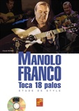 Manolo Franco - Style study  (Book/CD) - Claude Worms