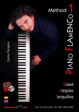 Piano Flamenco Method  Vol 1 (Book/DVD) - Carlos Torijano