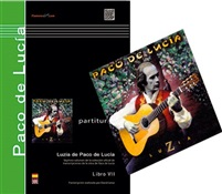 Saving Pack (Book + CD) - Luzia, Paco de Lucía