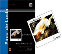 Saving Pack (Book + CD) - Siroco, Paco de Lucía