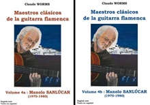 Saving Pack - Flamenco Guitar Masters (Score book), Manolo Sanlúcar Vol-1 & 2