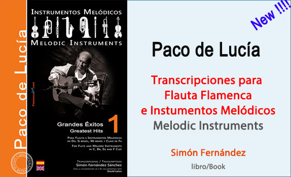 Melódicos Paco Lucia Vol 1 - Ingles