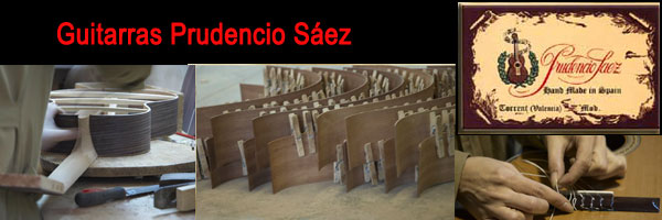 Prudencio Saez's Guitars